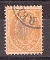 Islande - 1873 - N° 5 (B) - Dentelé 12½ - Faussement Oblitéré - Gebraucht