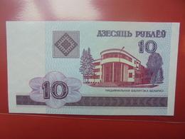 BELARUS 10 ROUBLES 2000 PEU CIRCULER/NEUF - Belarus
