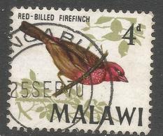 Malawi 1968 Birds. 4d Used. SG 313 - Malawi (1964-...)