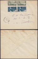 AEF - Lettre Yv34x2+44x2 De Oyem, Gabon Vers Ebolowa, Cameroun 15/05/1940 (7G29710) DC2544 - A.E.F. (1936-1958)
