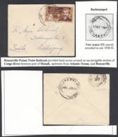 AEF - Lettre Yv55 Seul De Brazzaville Vers Lidkoping, Sweden 01/10/1937 (7G29710) DC2553 - Brieven En Documenten