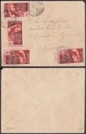 AEF - Lettre Yv43x4 De Libreville, Gabon Vers Geneva, Switzerland 13/02/1938 (7G29710) DC2556 - Covers & Documents