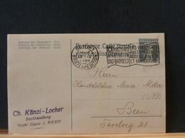 83/790 CP    SUISSE  1920 PIQUAGE PRIVE VERSO - Interi Postali