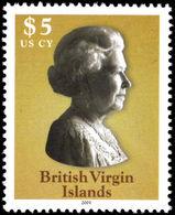 British Virgin Islands 2003 $5 Queen Elizabeth Unmounted Mint. - British Virgin Islands