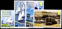 British Virgin Islands 2011 Spring Regatta Unmounted Mint. - British Virgin Islands