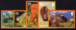 British Virgin Islands 2010 Coral Reefs Unmounted Mint. - British Virgin Islands