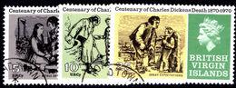 British Virgin Islands 1970 Charles Dickens Fine Used. - British Virgin Islands