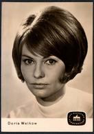 C3666 - TOP Doris Weikow -  Autogrammkarte - Deutscher Fernsehfunk - Autographes