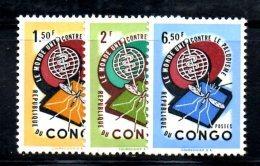XP67 - CONGO 1962 , La Serie    ***  MNH MALARIA - Repubblica Del Congo (1960-64)