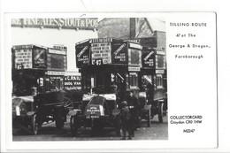 21681 - London Tilling Route Farnborough Collectorcard Croydon Platform One Fulham Road London - London
