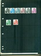 ESPAGNE SERIE COURANTE ROI JUAN CARLOS 2002  8 VAL NEUFS A PARTIR DE 1.40 EUROS - 1931-Aujourd'hui: II. République - ....Juan Carlos I