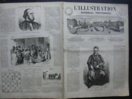 L'ILLUSTRATION 1254 THEOPHILE GAUTIER/ CRETE/ Allemagne/ HONGRIE/ ROME/ - Journaux - Quotidiens