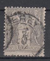 FRANKRIJK - Michel - 1879 - Nr 77 - Gest/Obl/Us - 1876-1898 Sage (Type II)