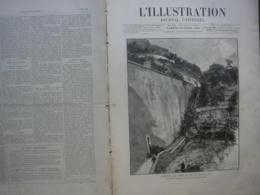 L'ILLUSTRATION 2247 ACCIDENT TRAIN MONTE CARLO/ NICE/ CAMILLE BERNIER/ JULES HETZEL - Journaux - Quotidiens