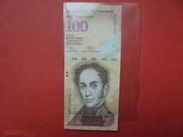 VENEZUELA 100 BOLIVARES 2012 PEU CIRCULER/NEUF - Venezuela