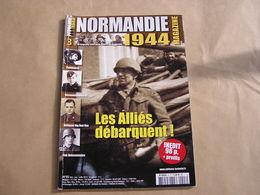 NORMANDIE Magazine N° 3 Guerre 40 45 Débarquement Pathfinders Flak Hohenstaufen Armmé Allemande SS Panzer Seine Omaha - Guerre 1939-45