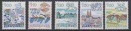 Switzerland 1982 Definitives 5v ** Mnh (42215A) - Zwitserland