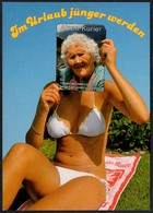 C3670 - TOP Humor Scherzkarte - Erotik - Pretty Young Women - Bikini - Humour