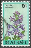 Malawi 1979 Orchids. 5t Used. SG 579 - Malawi (1964-...)