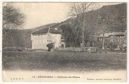 30 - GENOLHAC - Château Du Péras - Autres Communes