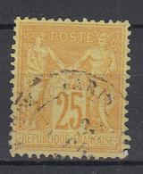 FRANKRIJK - Michel - 1879 - Nr 78 - Gest/Obl/Us - 1876-1898 Sage (Type II)