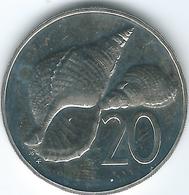 Cook Islands - 1977 - Elizabeth II - 20 Cents - KM14 - Cook
