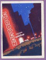 L Europeen Theatre De La Chanson Music Hall -  Programme 1948 Operette Vingt Ans De Paris GEORGIUS - - Programmes