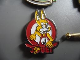 Pin's JOUET GAI LAPIN @ PINS 26 Mm X 20 Mm - Jeux