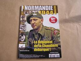 NORMANDIE Magazine N° 5 Guerre 40 45 Das Reich Cavalry Régiment De La Chaudière Char Panzer SS Plessis St Lambert Dives - Guerra 1939-45