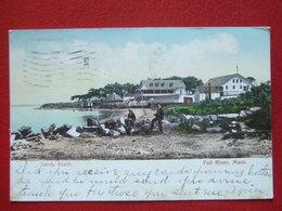 "ETATS UNIS - FALL RIVER - "" SANDY BEACH "" - OBLITERATION: DRAPEAU -  ENVOYEE  EN  1906 - Fall River"