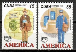 Cuba 1997 / Postmen UPAEP MNH Carteros Postboten Postiers  / Cu11238  C5 - Emissions Communes