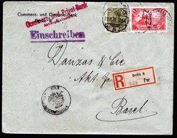A5974) DR Infla R-Brief Berlin 29.11.20 N. Basel Mi.A113 Ua. Zensur - Briefe U. Dokumente
