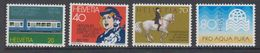 Switzerland 1982 Commemoratives 4v ** Mnh (42215D) - Zwitserland