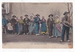 Carte Postaleune Noce Auvergnat - Personnages