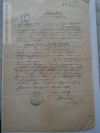 ZA185.9  Old Document Austria - Schönbach  (Zwettl)   1870 - Lankl - Plahl - Müller - Naissance & Baptême