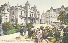 MONTE-CARLO - Le Casino Et L'Hôtel De Paris - Ed. LL N°42 - Colorisée - Monte-Carlo