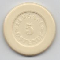 Ancien Jeton De Casino : Kursaal Ostende (Diamètre 32mm) - Casino