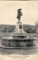 84. Monieux. La Fontaine. Don De M. Léon Doux - Autres Communes
