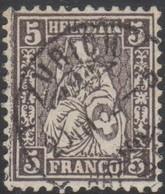 Schweiz, 20.3.1882, Zürich, 45, Sitzende Helvetia, Vollstempel, Siehe Scan! - Used Stamps