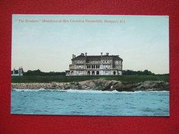 "ETATS UNIS - NEWPORT - "" THE BEAKERS "" - ( RESIDENCE OF MRS CORNELIUS VANDERBILT ) - - Newport"