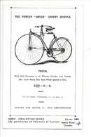 21687 - London The Patient Rover Safety Bicycle Price Pamlin Prints Croydon Platform One Fulham Road London - London