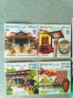 Malaysia 2019 Stamps Set Tourist Destinations Melaka Malacca & Sarawak - Malaysia (1964-...)