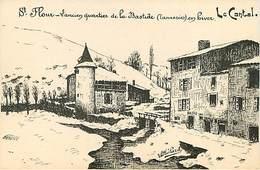 15 Saint Flour  L'ancien Quartier De La Bastide - Saint Flour