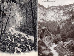 """SUISSE --GORGES De COVATANNAZ --""""Lot De Deux Cartes"""". - Suisse"""