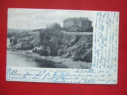 "ETATS UNIS - NEWPORT - "" THE BEAKERS "" - CLIFF VIEW - OBLITERATION : DRAPEAU EN 1904.... - Newport"