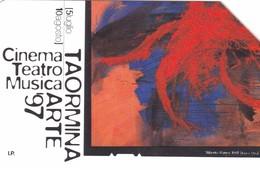SCHEDA TELEFONICA  TAORMINA ARTE 97   SCADENZA 31/12/1999 USATA - Italy