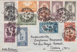 MAROC :   Divers Sites Sur Lettre De L'Hotel Excelsior CaD De Casablanca De 1929 - Morocco (1891-1956)
