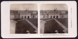 NEPAL * PHOTO STEREOSCOPIQUE SIKHIM - LUCKNOW - IMAMBARA MOSCHEE - MOSQUE  * édit. STEGLITZ 1906 BERLIN - Népal