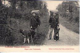 Frontière Franco Allemande. Dépqart Pour L'embuscade - Régiments