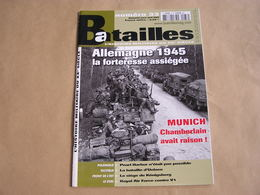 BATAILLES N° 33 Guerre 40 45 Allemagne 1945 Munich Chamberlain Bataille Uelzen Raf Contre V1 Köningberg Pearl Harbor - Guerre 1939-45